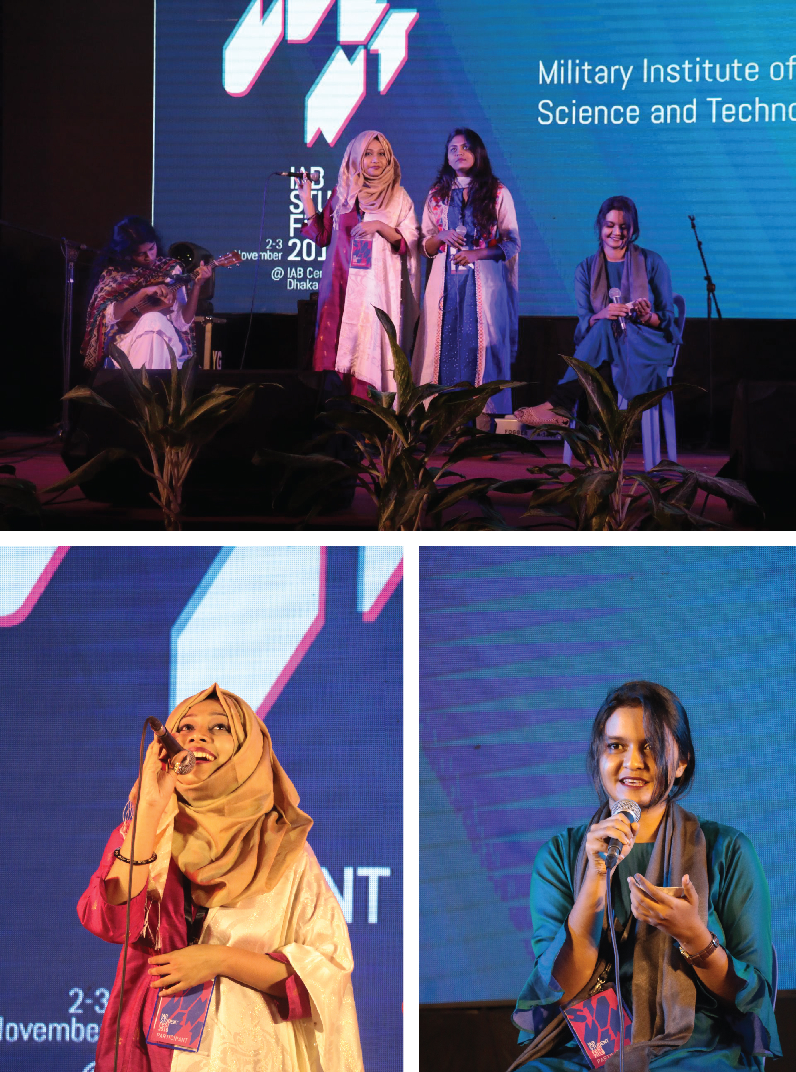 Student of Architecture Department , MIST participated in the 'Friendship Night' at the Institute of Architects Bangladesh (IAB).