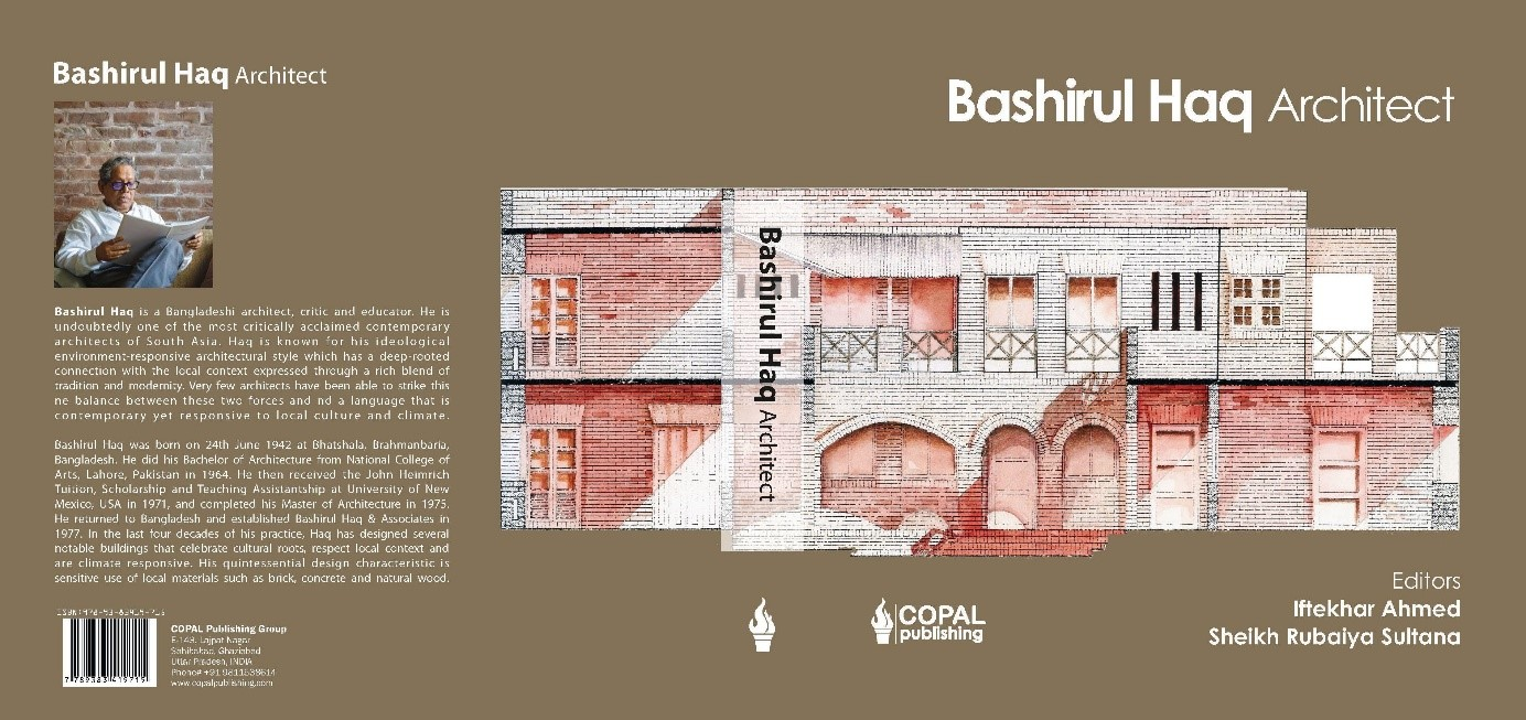 "Launching ceremony of the book ""BashirulHaq Architect,"" co-authored by Sadia Subrina,Department of Architecture,MIST"