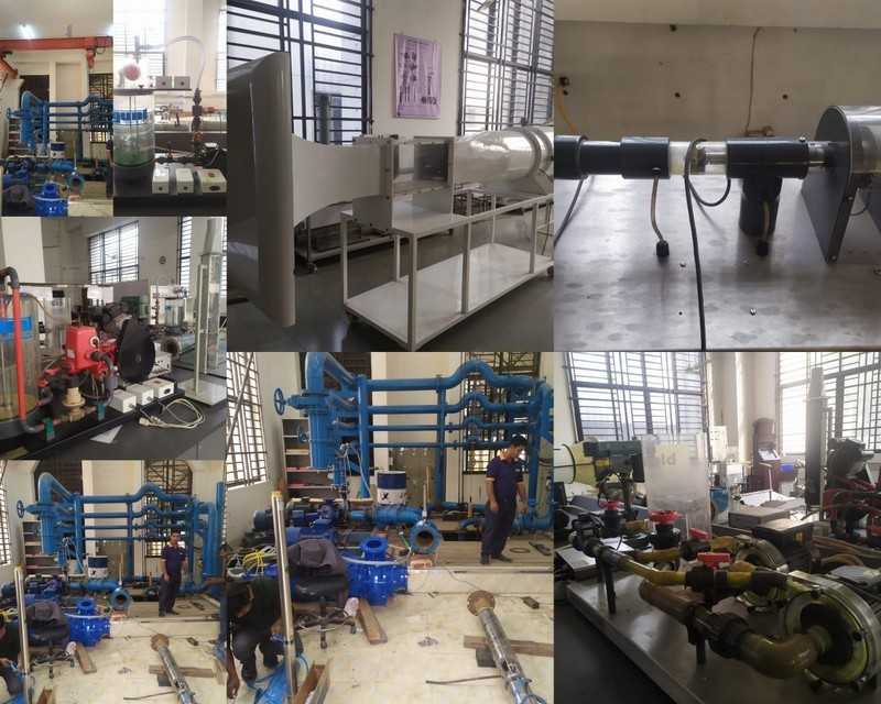 Fluid Mechanics & Machinery lab